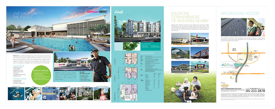 Ipoh Premier City Genesis Brochure - Back Side